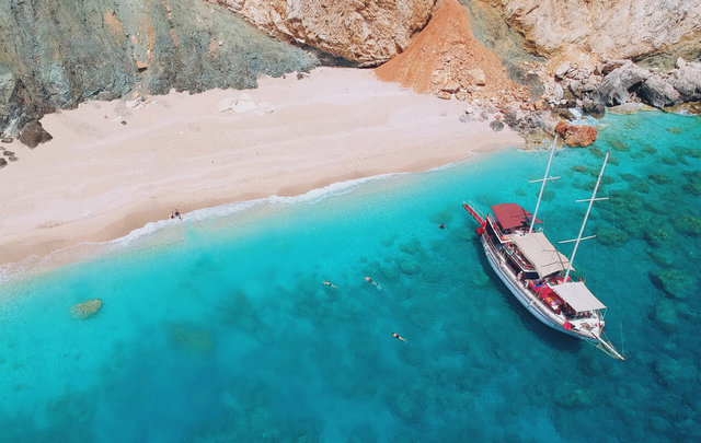 """SON DAKİKA! Antalya'nın Maldivleri Suluada'da """"kirlilik"""" tehlikesi - Haberler"""
