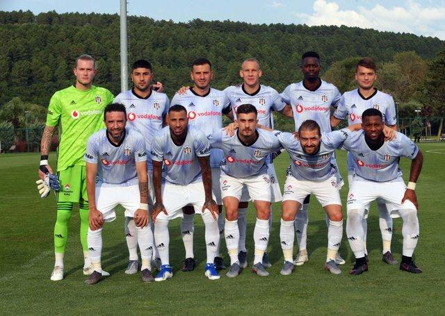 Beşiktaş Pendikspor MAÇ SONUCU - BJK hazırlık maçı