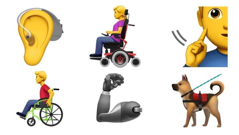 Engelli bireyler için yeni emojiler!