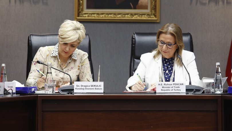 Karadağ ile serbest ticaret anlaşması revize edildi
