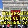 İşte Üniversite taban puanları 2019!