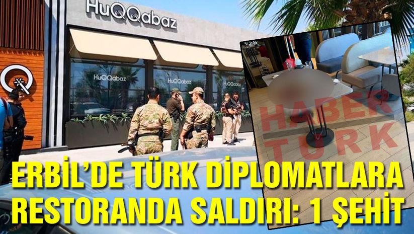 Erbilde Türk diplomatlara silahlı saldırı!