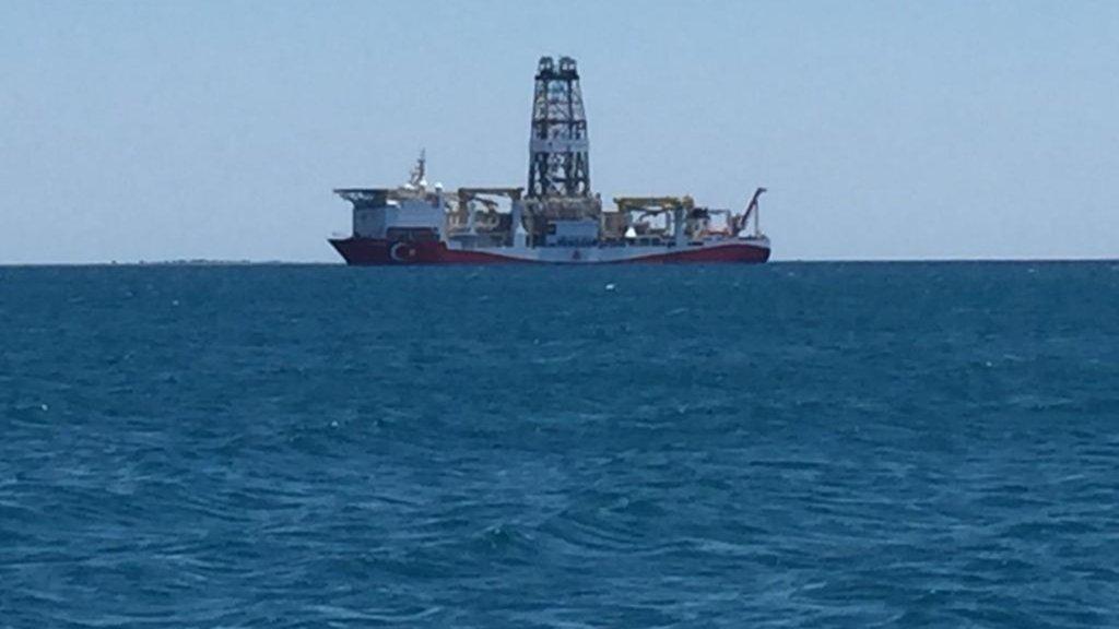 Doğu Akdeniz'den ilk görüntü geldi!