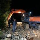 Düzce'de heyelan! Köy yolları ulaşıma kapandı