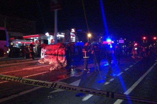Kocaeli'de yolcu otobüsü kazası: 2 yaralı