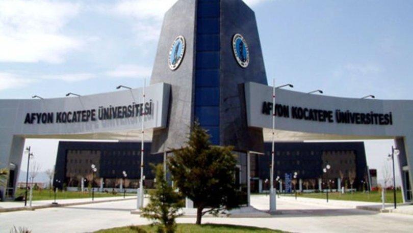 Afyon Kocatepe Üniversitesi taban puanları 2019! İşte Afyon Kocatepe Üniversitesi başarı sıralaması
