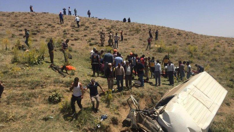 Korkunç kaza! Van'da son dakika göçmen faciası: 14 ölü, 28 yaralı! - Haberler