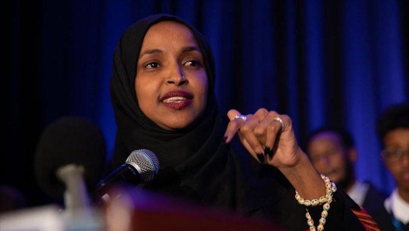 Trump tarafından hedef gösterilen Ilhan Omar'a destek büyüyor