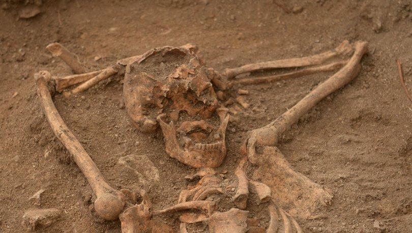 arkeologları şaşırtan iskelet