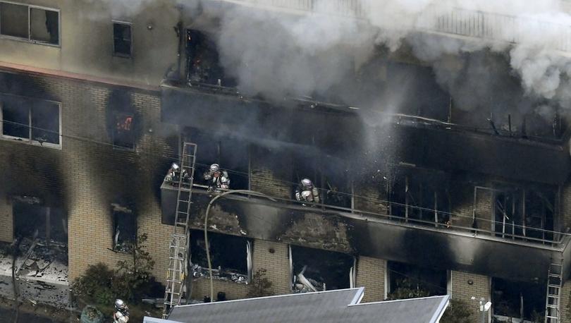 Japonya'da anime stüdyosunda 'kundaklama': 13 kişi yaşamını yitirdi