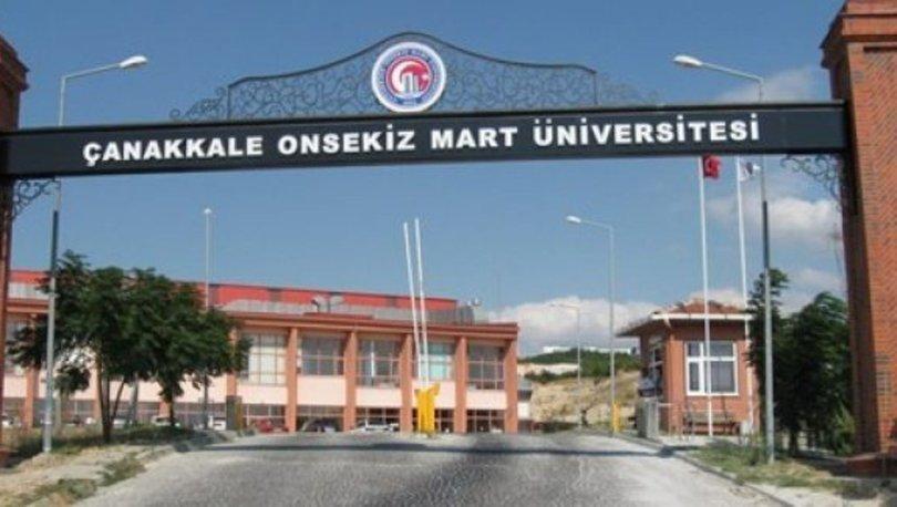 Çanakkale On Sekiz Mart Üniversitesi taban puanları 2019! İşte Çanakkale On Sekiz Mart Üniversitesi