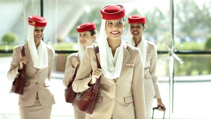 Emirates Havayolu Türk kabin memuru arıyor
