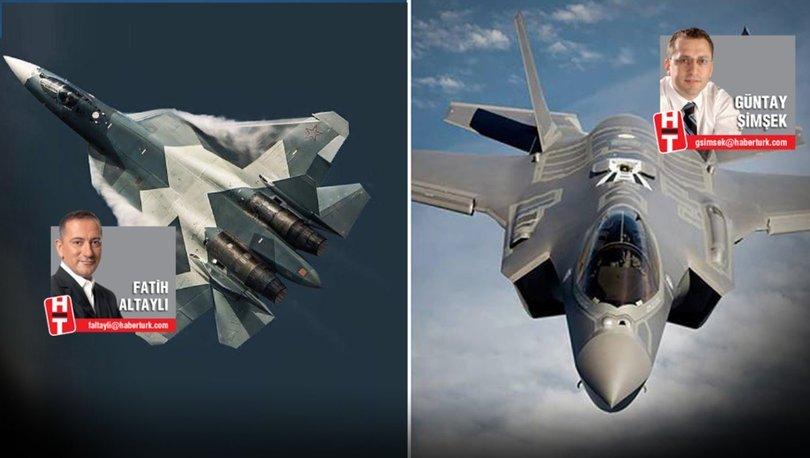 F-35 ve SU-57 savaş uçakları