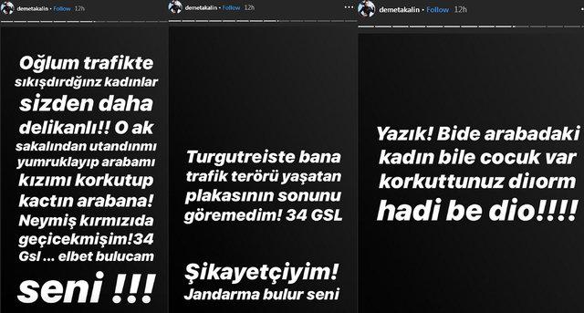 Demet Akalın'a trafikte şok saldırı! - Magazin haberleri Instagram