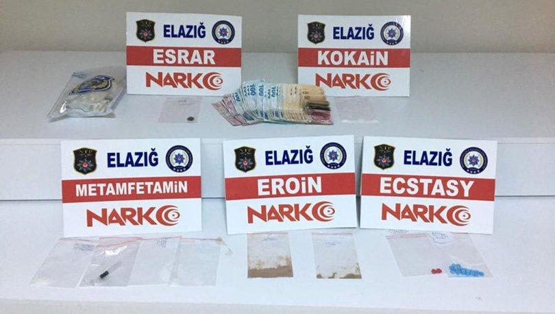Elazığ'da uyuşturucu operasyonu! 3 şüpheli tutuklandı