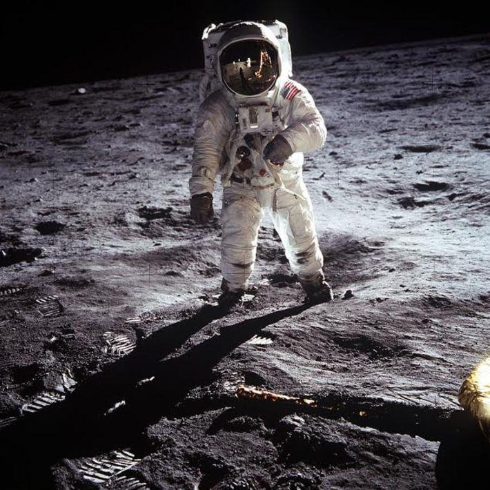 Buzz Aldrin (Fotoğraf: Neil Armstrong)