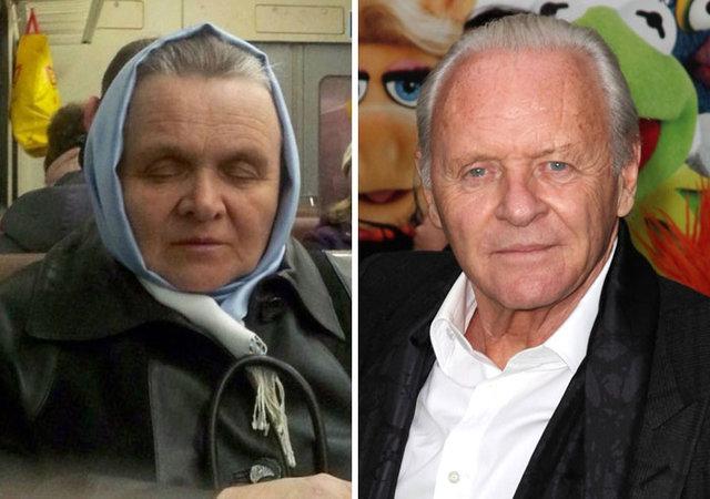 Şaşkına çeviren benzerlik! İşte ünlülerin ünsüz Slav ikizleri