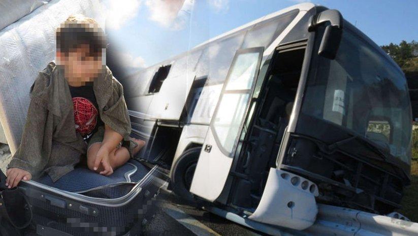 Son dakika! YSS Köprüsü girişinde otobüs kazası: Yaralılar var