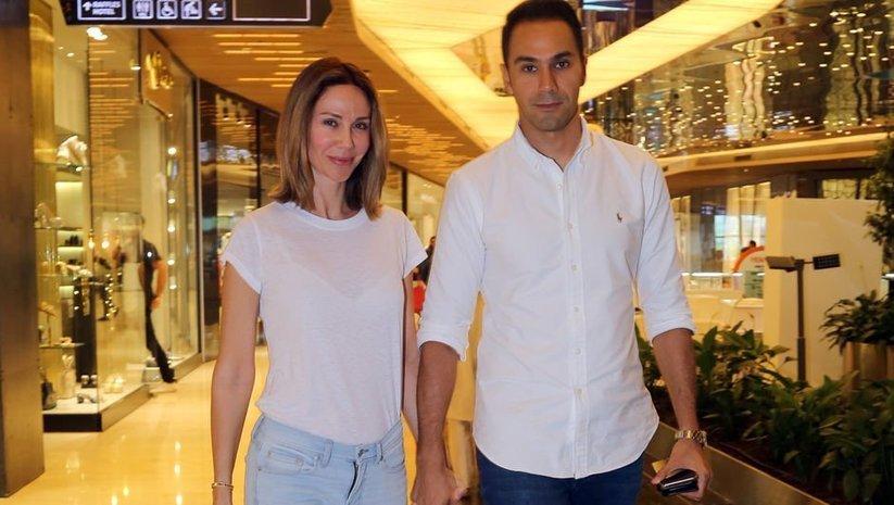 Demet Şener ile Cenk Küpeli'nin el ele alışveriş turu - Magazin haberleri