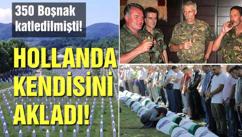 """Hollanda Yargıtayı'ndan """"Srebrenitsa"""" kararı! Hollanda kendisini akladı! - Haberler"""