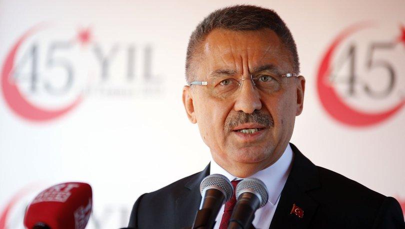 Son dakika haber: Cumhurbaşkanı Yardımcısı'ndan Doğu Akdeniz açıklaması - Haberler