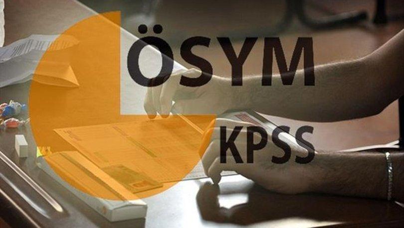 KPSS soru ve cevapları ne zaman yayımlanacak? KPSS Alan Bilgisi sınavı 3. oturum saat kaçta başlayacak?