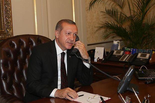 Cumhurbaşkanı Erdoğan'dan şehit ailelerine telefon