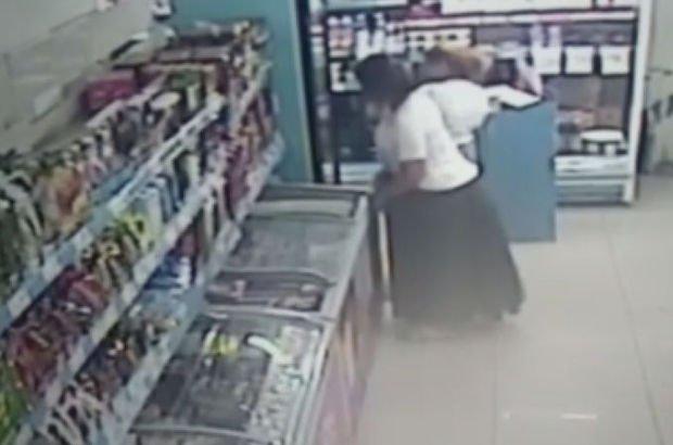 Kadınların ilginç hırsızlık yöntemi
