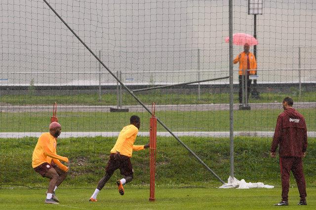 Galatasaray'da kıran kırana antrenman!