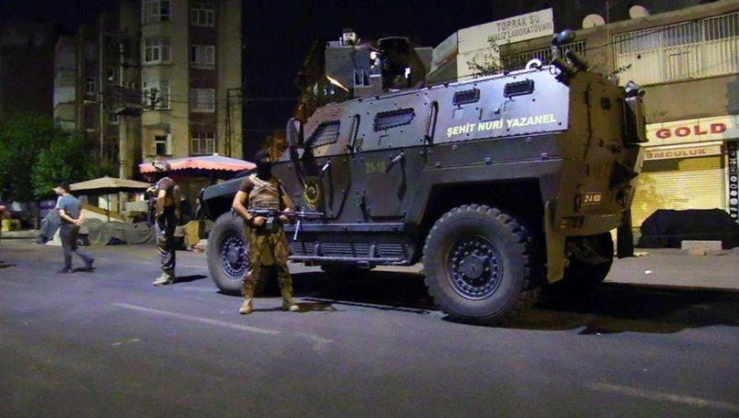 Diyarbakır terör operasyonu
