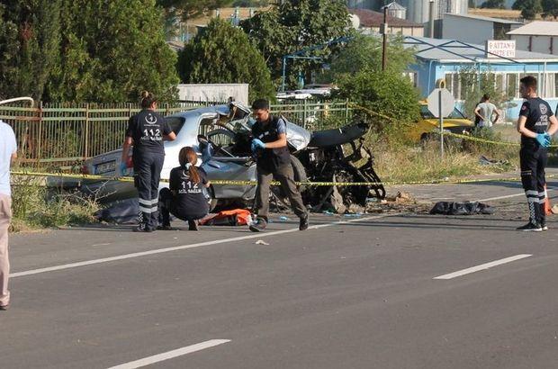 Edirne'de feci kaza! Ölü ve yaralılar var