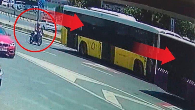 SON DAKİKA! Şişli'de otobüsün altında dehşet anları! Ölümden kıl payı kurtuldu! - Haberler