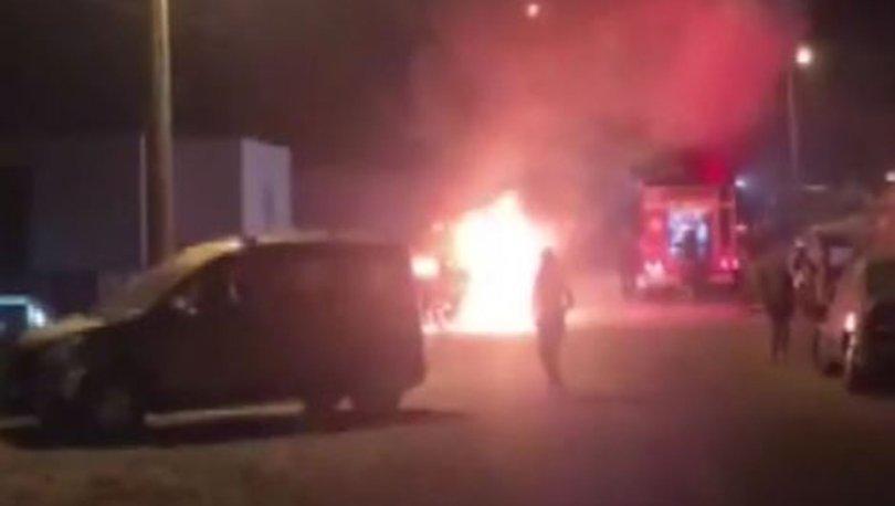 SON DAKİKA! Bodrum'da lüks cipi havlu ile tutuşturup yaktılar - Haberler