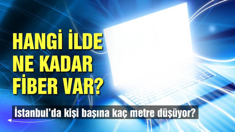 Türkiye'de hangi ilde, ne kadar fiber var?
