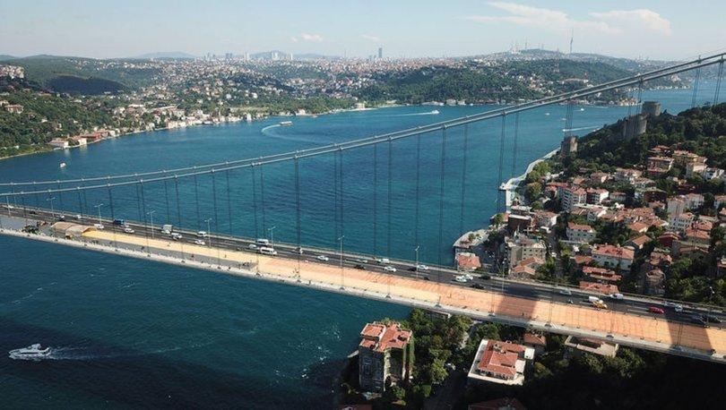 SON DAKİKA! FSM Köprüsü'ndeki asfalt çalışmasının son hali havadan görüntülendi - Haberler