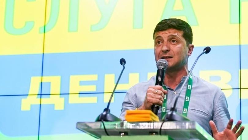 Ukrayna'da erken seçimi Devlet Başkanı Zelenskiy'in partisi kazandı: Rock yıldızıyla koalisyon kurabilir