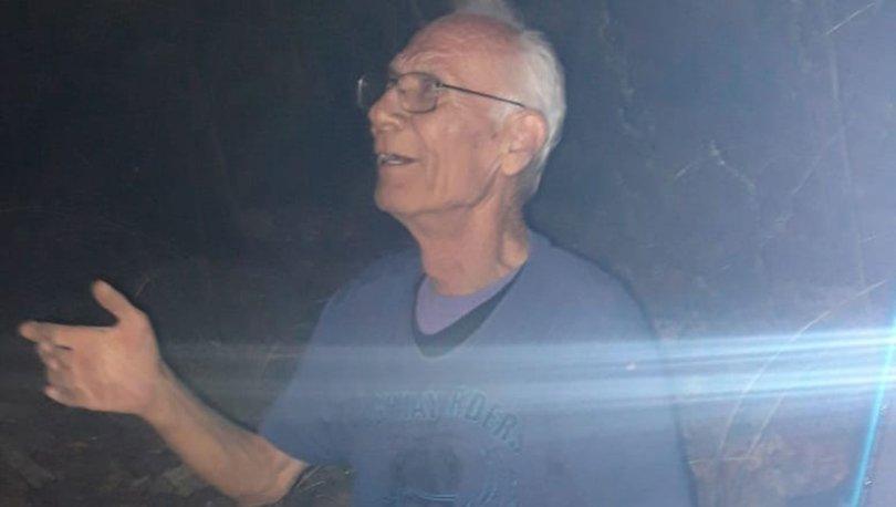 Piknikte kaybolan adamı 14 saat sonra jandarma köpeği buldu