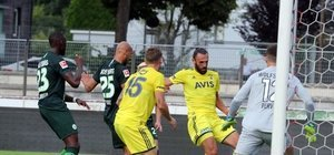 Fenerbahçe ile Wolfsburg yenişemedi