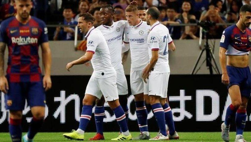 Chelsea: 2 - Barcelona: 1   MAÇ SONUCU