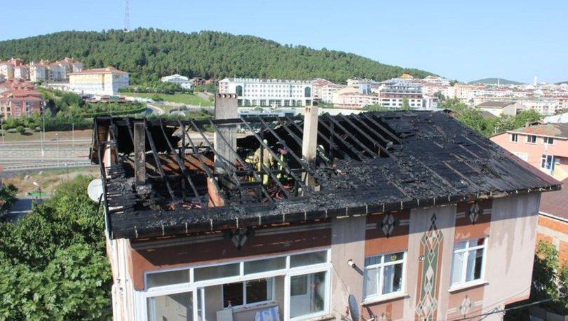 Ümraniye'de aynı binada üç saat arayla iki yangın
