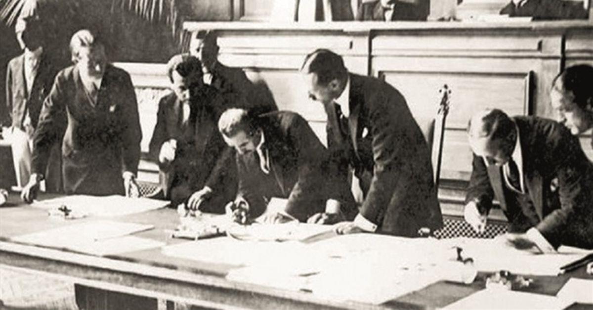 Lozan Barış Antlaşması 96 yaşında! Lozan Barış Antlaşması nedir? Lozan  neden önemli? | Gündem Haberleri