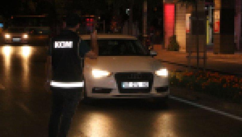 Antalya'da 8 saatte 146 sürücüye 46 bin TL ceza
