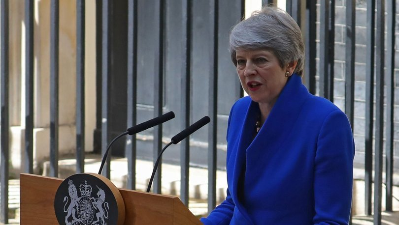 Brexit kurbanı Theresa May veda etti!