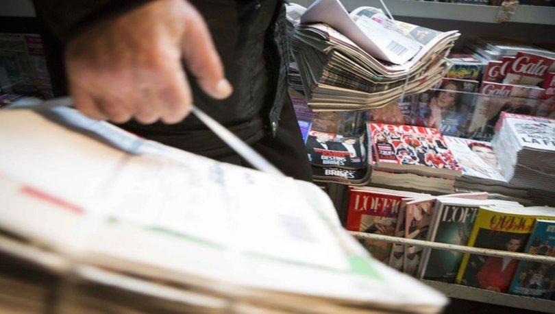 2018 Gazete ve dergi tirajları - Haberler