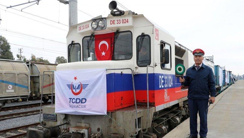 Demir yollarına yatırımın meyvesi: Yük trenleri - haberler