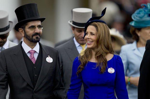 Şeyh ile Londra'ya kaçan eşi gizlice boşandı!