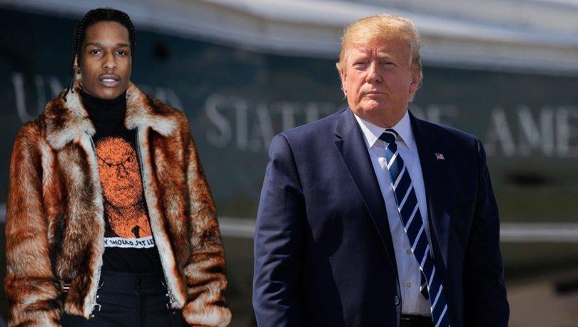 Trump'ın kefaleti yeterli olmadı, ASAP Rocky tutuklu yargılanacak