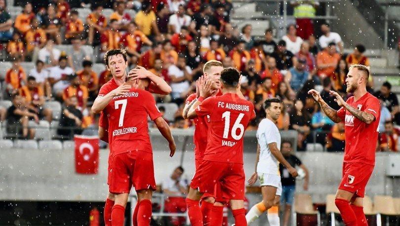 Galatasaray: 1 - Augsburg: 4 | MAÇ SONUCU - MAÇ ÖZETİ