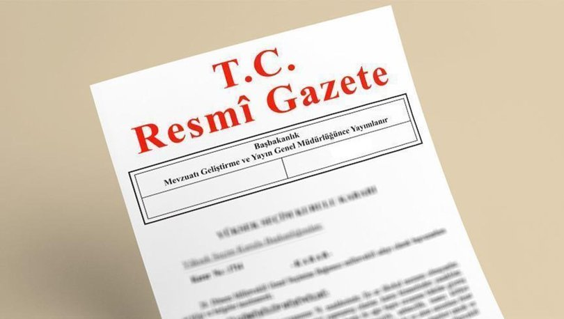 Diyanet İşleri Başkanlığı'na ilişkin karar Resmi Gazete'de