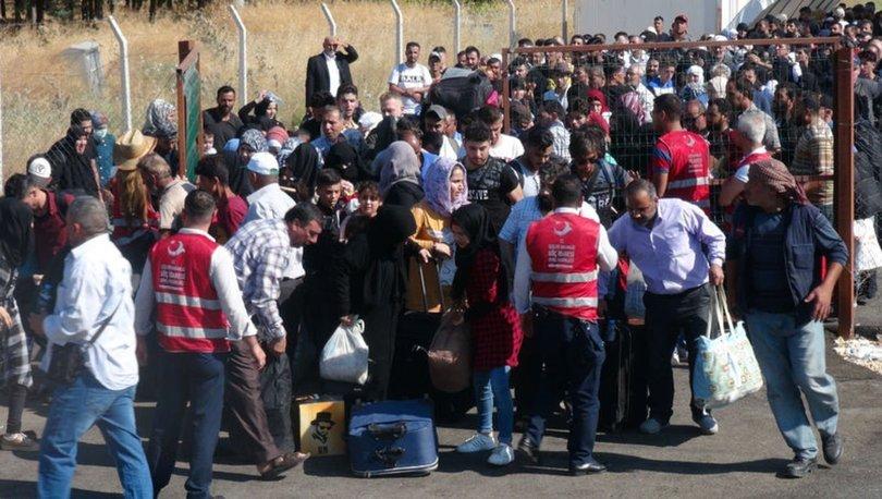 Son dakika: Suriyelilerin bayram izdihamı